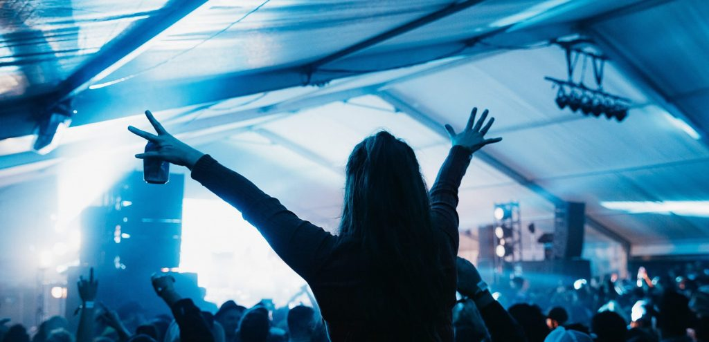 JBL VTX Line Array for NZ Concerts