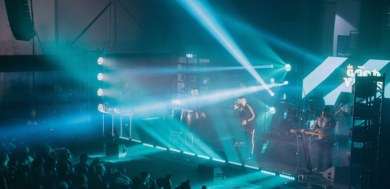 JBL VTX takes NZ Concerts to next level audio experience