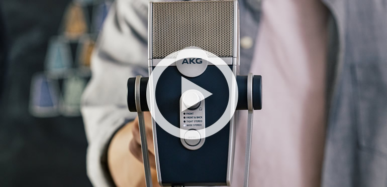 AKG LYRA USB microphone for Teams and Zoom