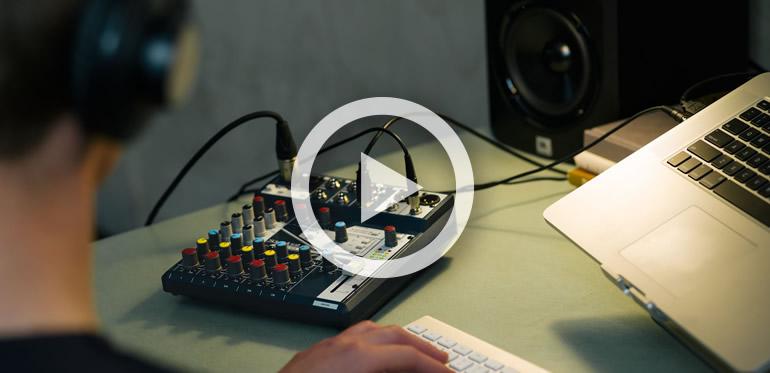 Soundcraft Notepad USB Desktop Audio Mixer Interface